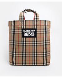 Burberry BORSA ARTIE CHECK - Multicolore