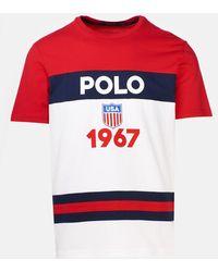 Polo Ralph Lauren T-shirt Logo Rossa - Red