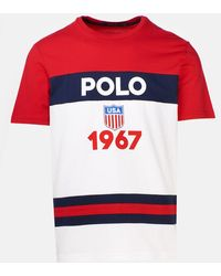 Polo Ralph Lauren T-shirt Logo Rossa - Red