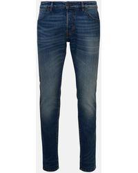 Pt05 Jeans Slim Vintage Blu - Blue