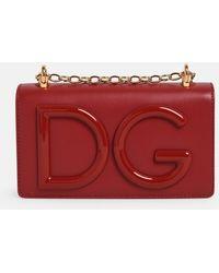 Dolce & Gabbana Tracolla Logo Rossa - Red