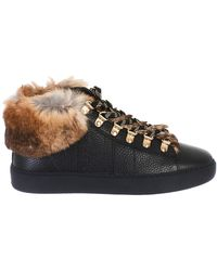 Woolrich - Leather Sneakers - Lyst