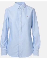 Polo Ralph Lauren Camicia Oxford Azzurra - Blue
