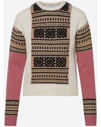Max Mara White Liana Sweater
