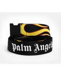 Palm Angels - Cintura Burning Nera - Lyst