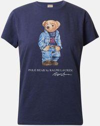 Polo Ralph Lauren T-shirt Bear Blu - Blue