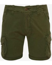 Alpha Industries Short Shorts orange 31 Inch Kurze Hose Scout Cargo NEU Gürtel
