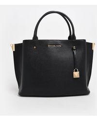 MICHAEL Michael Kors Black Lg Satchel Bag