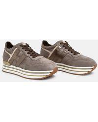 Hogan Sneakers H483 Marroni - Brown