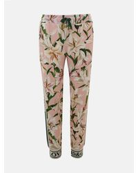 Dolce & Gabbana Floral Gigli Pants - Natural