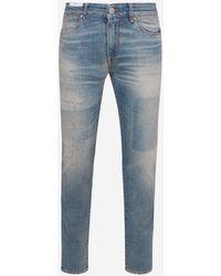 Pt05 Jeans Super Slim Blu Chiaro - Blue