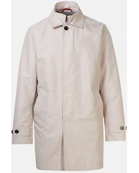 Fay Beige Trench Coat - Natural
