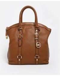 MICHAEL Michael Kors Brown Legacy Bedford Bag