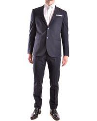 Grey Daniele Alessandrini - DANIELE ALESSANDRINI-GREY Suit - Lyst