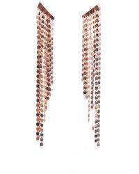 Lana Jewelry Petite Malibu 18k Rose Gold Earrings Gold Sz: - Metallic