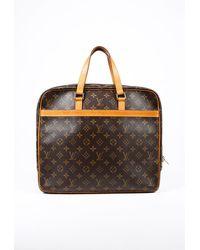 Louis Vuitton Porte Documents Pegase Brown Monogram Coated Canvas Briefcase