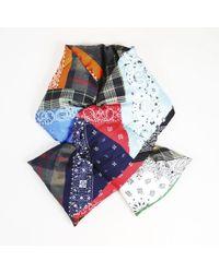 Pierre Louis Mascia - Multicolor Silk Multi Patterned Padded Scarf - Lyst