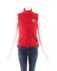 Canada Goose Freestyle Down Vest - Red