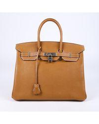 Hermès Birkin 35 Barenia Faubourg Bag - Brown