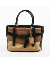 d6e8a9e02794 Reed Krakoff - Brown Black Leather