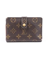 Louis Vuitton French Purse Monogram Wallet - Brown
