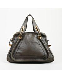 "Chloé Leather Medium ""paraty"" Bag - Brown"