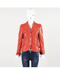 Akris - Leather Jacket - Lyst