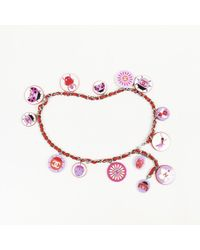 Chanel - Chain Leather Ladybug 'cc' Belt - Lyst