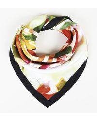 Louis Vuitton - X James Rosenquist Silk Scarf - Lyst