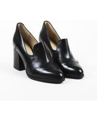 085e427118 The Office Of Angela Scott - Nib Black Leather