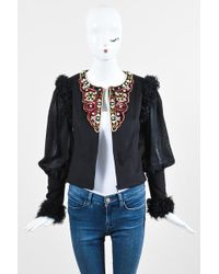 Chanel Pre-owned Cashmere Blazer - Black
