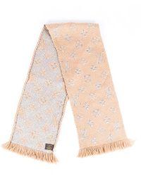 Louis Vuitton Monogram Wool Scarf - Brown