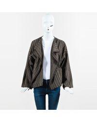 Eskandar - Brown & Beige Wool & Cashmere Open Jacket - Lyst
