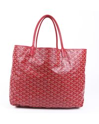Goyard St. Louis Gm Ine Tote Bag - Red