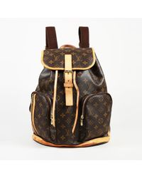Louis Vuitton - Bosphore Cloth Backpack - Lyst