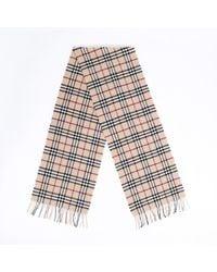Burberry Nova Check Wool Scarf - Multicolor
