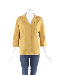 Marni Nylon Jacket Yellow Sz: S