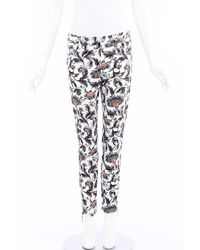 Louis Vuitton Printed Skinny Jeans - Multicolour