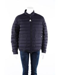 Moncler Acorus Quilted Down Filled Coat - Blue