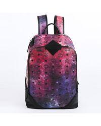 MCM Duke Galaxy Backpack - Purple