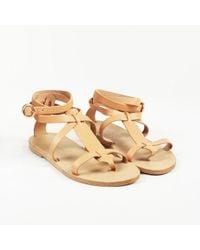 Valia Gabriel - Leather Gladiator Sandals - Lyst