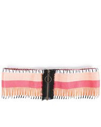 Missoni Striped Waist Belt - Pink