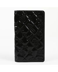 """Chanel - Quilted Patent Leather """"lucky Charms"""" Wallet - Lyst"""