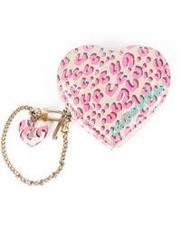 Louis Vuitton Stephen Sprouse Heart Coin Purse - Pink
