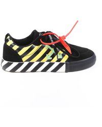Off-White c/o Virgil Abloh - Low Vulcanized Suede Sneakers - Lyst