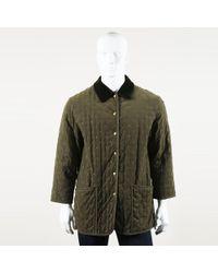 Hermès Vintage Embroidered Jacket Men's - Green