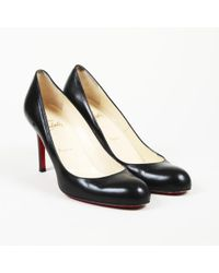 """Christian Louboutin - Leather """"simple"""" Pumps - Lyst"""