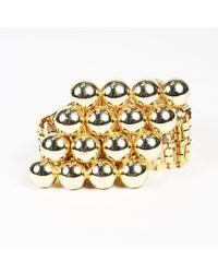 Dior - Gold Tone Chain Link Waist Belt - Lyst