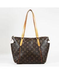 """Louis Vuitton - Brown Monogram Coated Canvas """"totally Pm"""" Shoulder Bag - Lyst"""