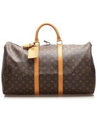 Louis Vuitton Monogram Keepall 50 - Brown